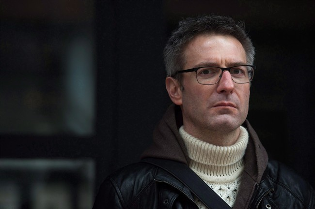 Mark Farrant poses for a photo in Toronto, Saturday, February 25, 2017. Farrant, who developed post-traumatic stress disorder after serving on a jury in 2014, said he is advocating for assistance to ensure other people do not face the same struggles.
