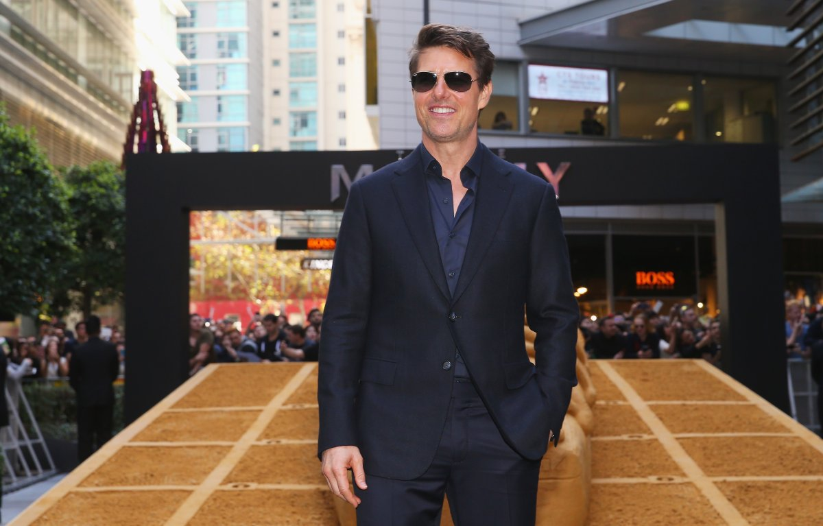 Tom Cruise at 'The Mummy' premiere at World Square on May 23, 2017 in Sydney, Australia.