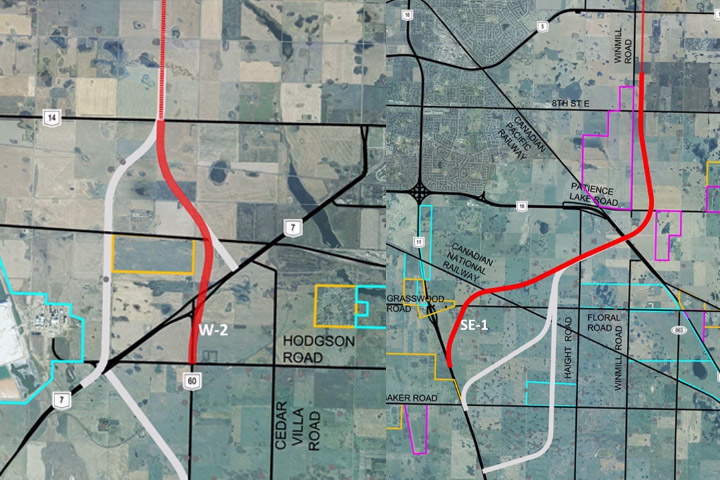 The Saskatchewan government is looking for feedback on recommended routes for the proposed Saskatoon Freeway.