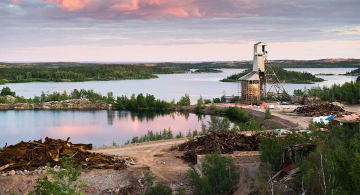 The expected cost for remediation of the remote Gunnar mine in northern Saskatchewan has swelled about 10 times and Ottawa isn't offering any more money.