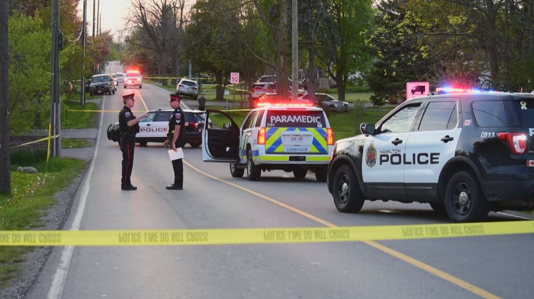 A 10-year-old girl has died following a vehicle collision in Waterdown on Tuesday evening.
