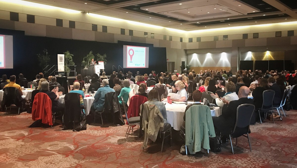 Community leaders from London and the surrounding area gathered at the Convention Centre for an update on human rights from the OHRC.