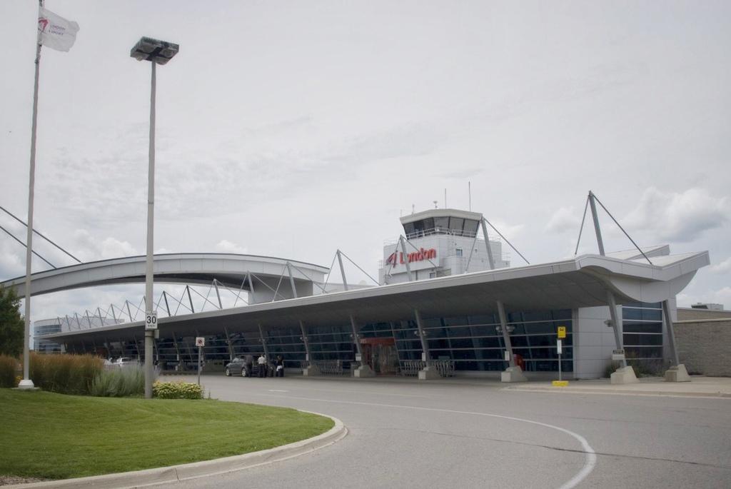 London International Airport.