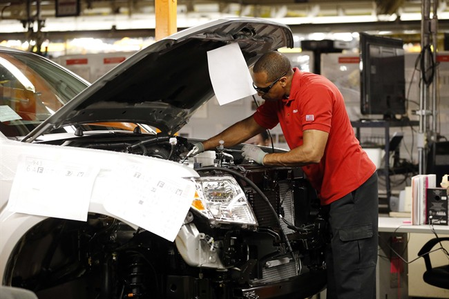 Canada's goods-producing sector added 49,100 positions, almost half of which were in manufacturing, Statistics Canada said on Friday, Feb. 7, 2020.