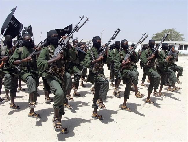 Somali terrorist group Al-Shabaab.