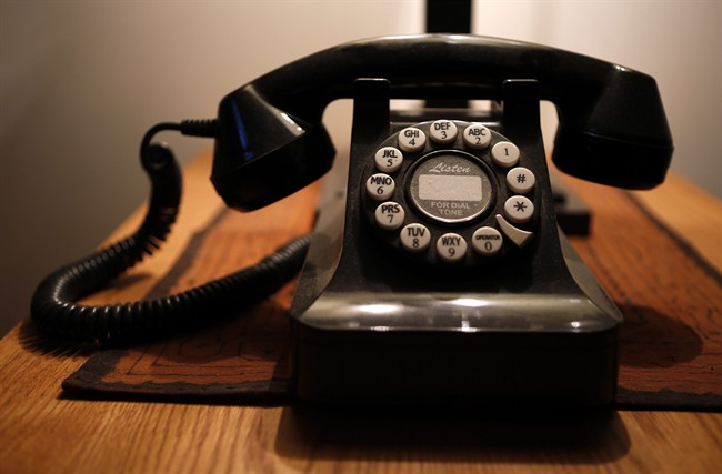 Residents in the community of Tolstoi, Man., say they've had no landline service for weeks.