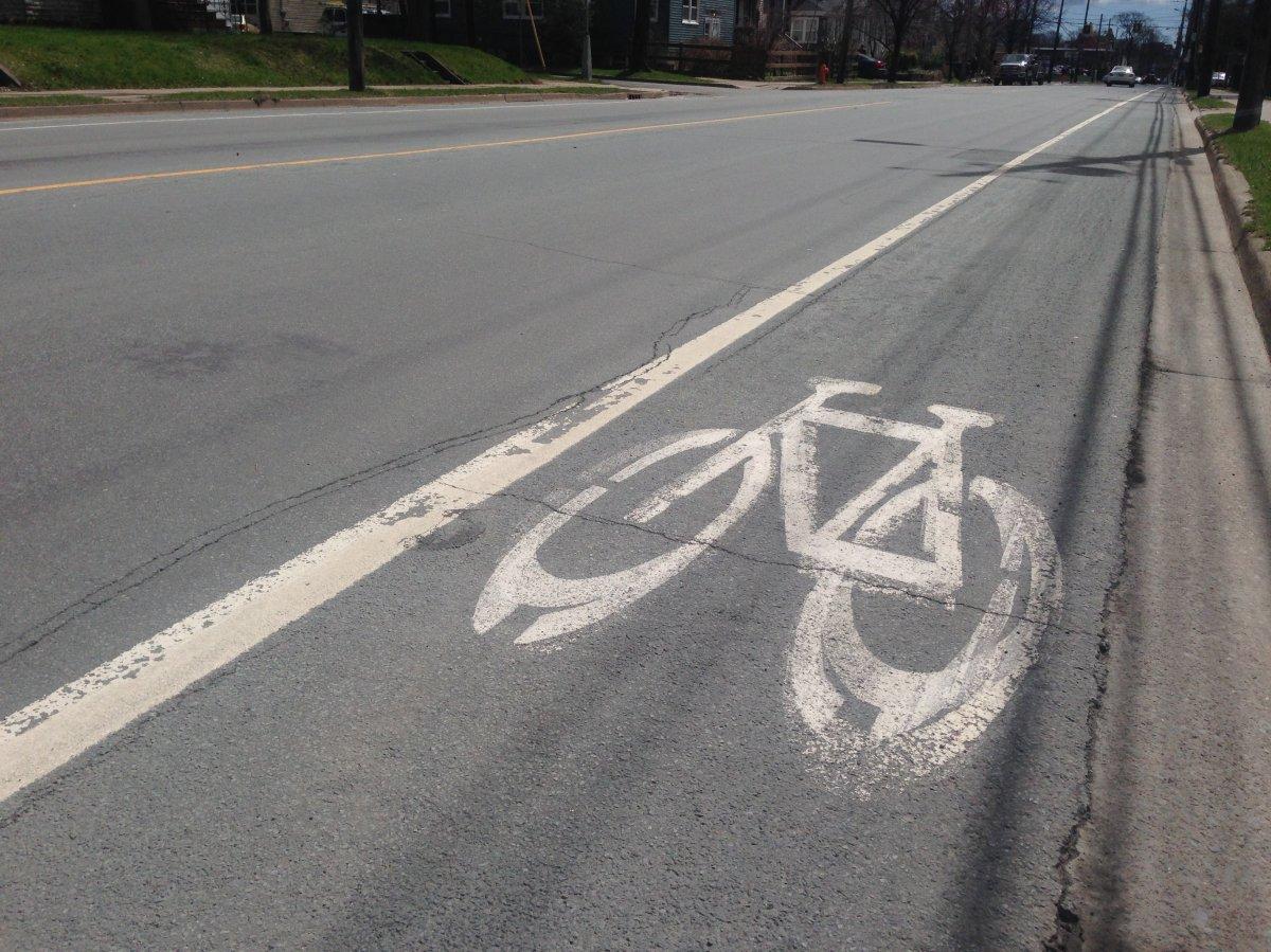 Painted Bike Lane