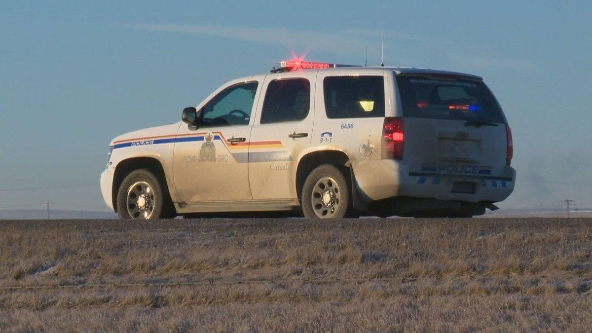 Alberta RCMP vehicle.