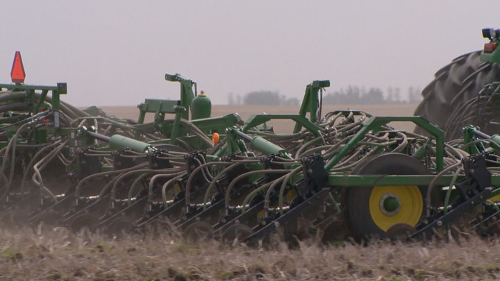 Warm and dry weather is needed for many Saskatchewan farmers as seeding of the 2017 crop nearly one-third complete.