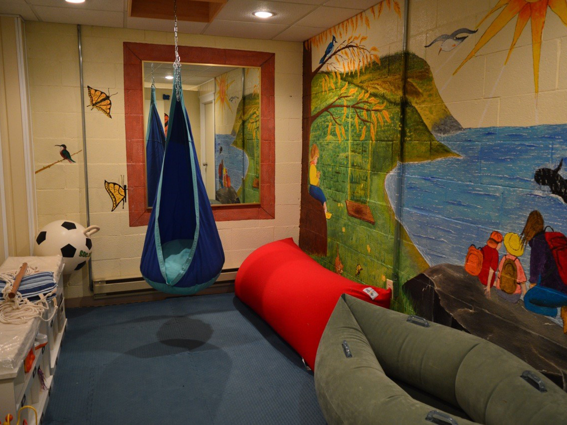 """Hotel Port aux Basques in southwestern Newfoundland offers amenities like extra safety locks and a """"sensory room"""" where kids on the autism spectrum can retreat to tranquillity."""