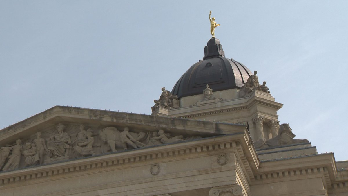 The Manitoba Legislature will be looking a little brighter on Saturday.