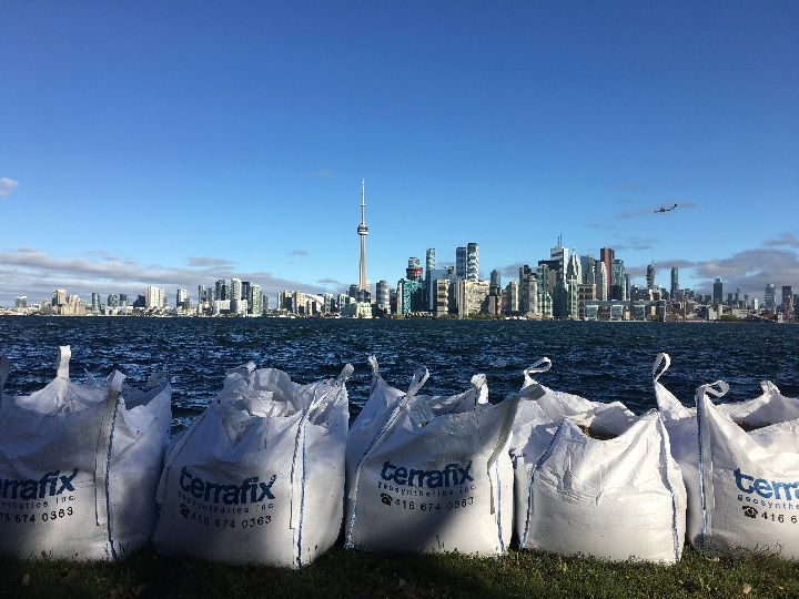 Half of the buildings at Toronto Islands were at risk due to flooding in the spring of 2017.