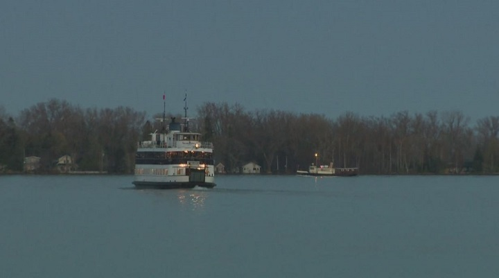 Parks on the Toronto Islands are currently being affected by high water levels.