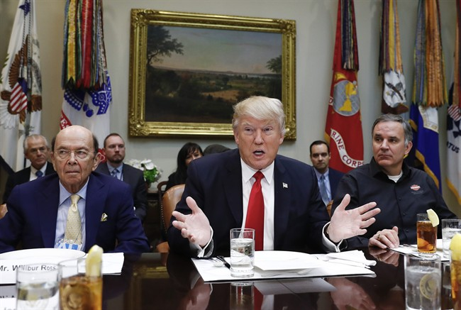 U.S. President Donald Trump has announced steel and aluminium tariffs on Canadian exports.