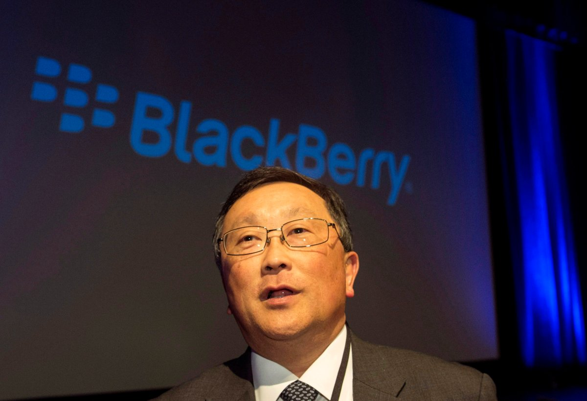 """BlackBerry chief executive John Chen called the company's new cybersecurity software for autos """"game changing.""""."""