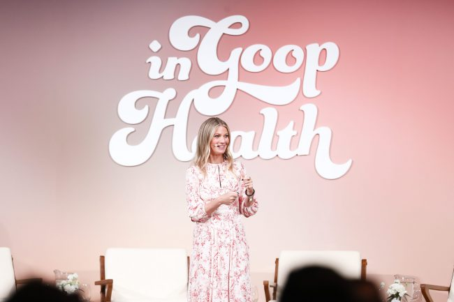 Gwyneth Paltrow goop Hosts the 'In goop Health' summit in Culver City, U.S.A.