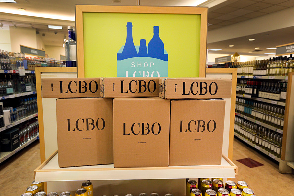 LCBO store at Cooper St. in Toronto, July 26, 2016.