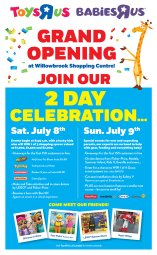 """Continue reading: It's Time to Celebrate! Toys""""R""""Us and Babies""""R""""Us Langley Host Grand Opening July 8 and 9"""