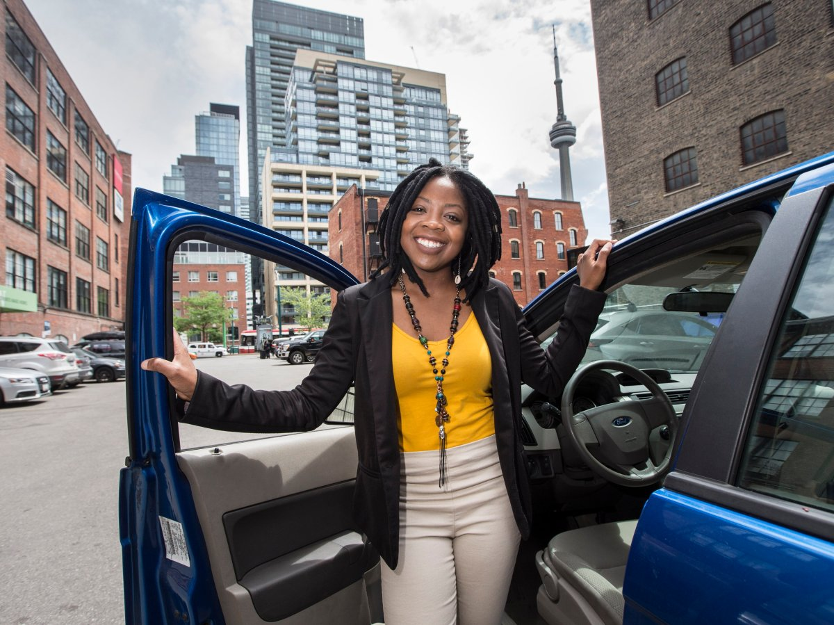 Aisha Addo's DriveHER ride-share business, which is exclusively for women, will launch later this summer.