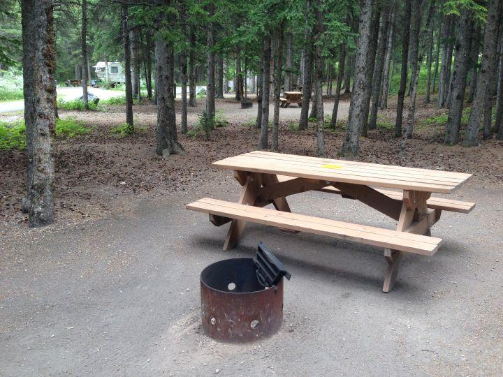 Alberta camping.