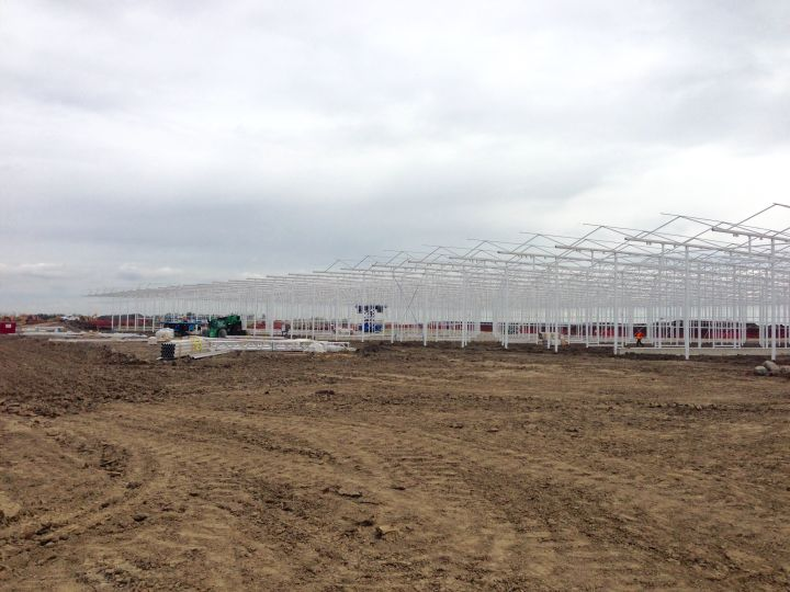 A ground-breaking ceremony was held on Friday, June 16, 2017 for the 800,000 square-foot Aurora Sky cannabis production facility near the Edmonton International Airport.