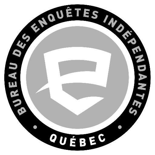 Quebec's independent investigations unit logo, Bureau des enquêtes indépendantes (BEI).