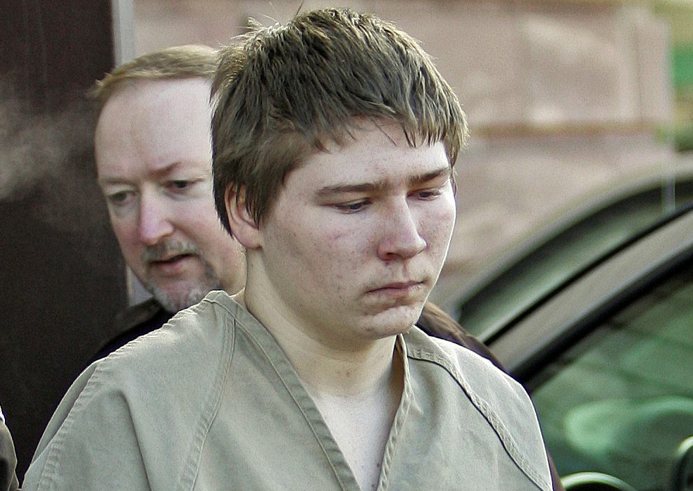 In this March 3, 2006, file photo, Brendan Dassey, is escorted out of a Manitowoc County Circuit courtroom in Manitowoc, Wis.