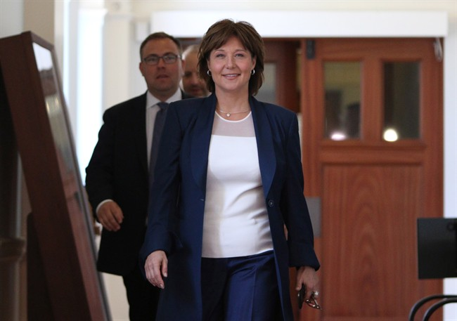 Former B.C. premier Christy Clark lands new job at law firm - image