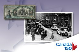 Continue reading: It took how long until a Canadian actually appeared on the $10 bill?