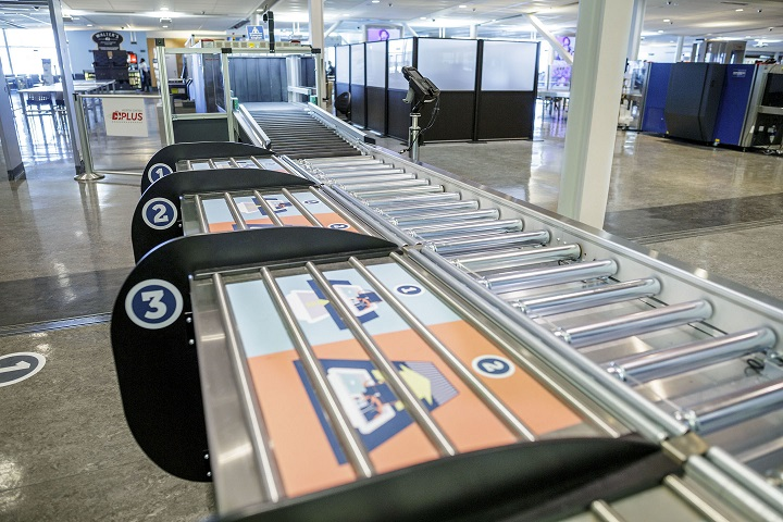 """The Canadian Air Transport Security Authority (CATSA) has installed new """"higher-performance lines"""" at Terminal 1."""
