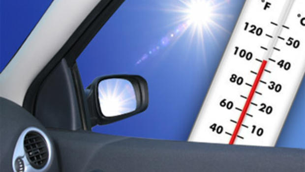 The vehicle's temperature had reached 30 C by the time first responders extracted the child, police said.