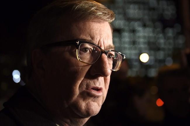 Ottawa Mayor Jim Watson speaks in Ottawa, Thursday, Nov. 10, 2016.