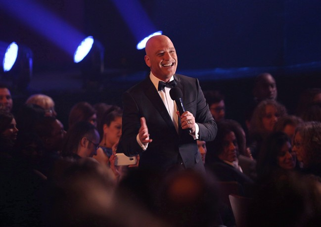 Howie Mandel is seen wandering into the crowd during the opening of the 2017 Canadian Screen Awards in Toronto on Sunday, March 12, 2017.