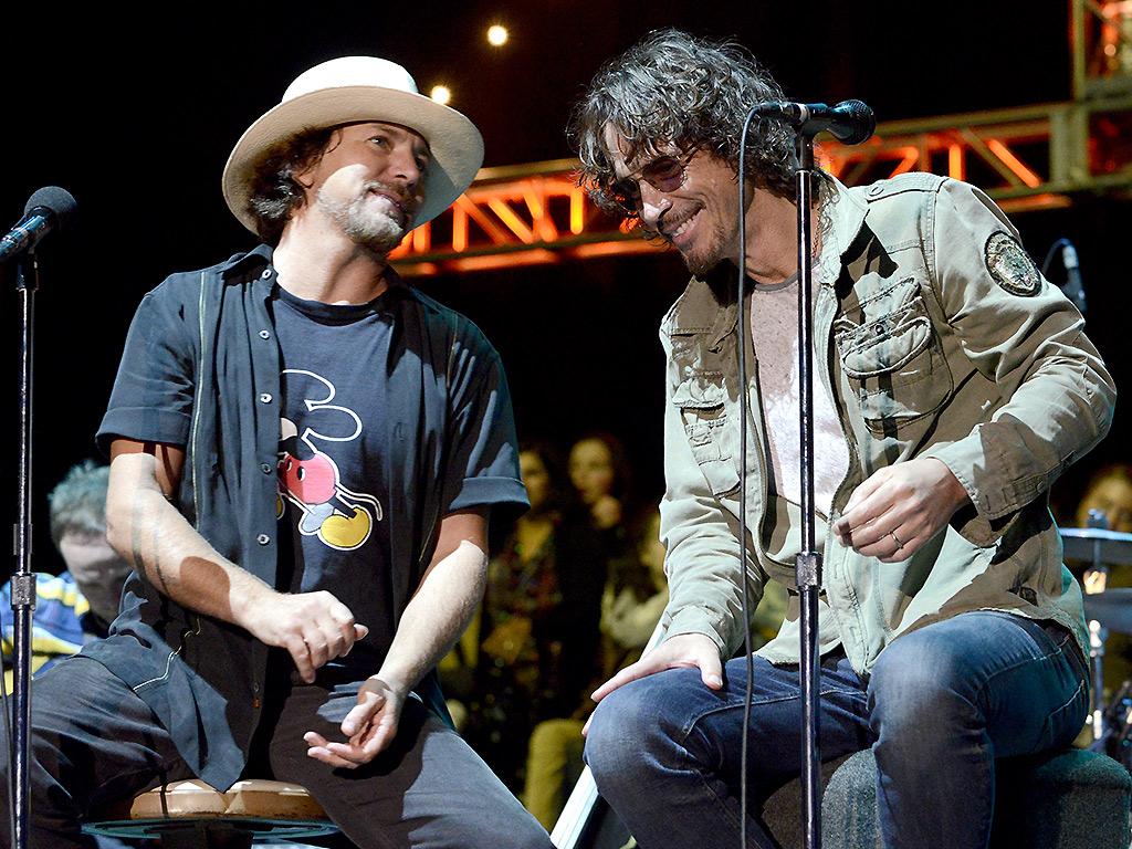 Eddie Vedder, Chris Cornell