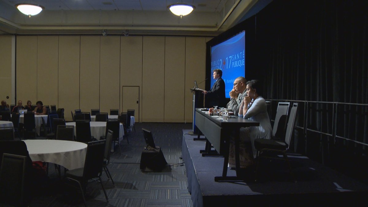 """""""Ending gun violence: A public health approach to promoting community safety"""" was the title of a forum held in Halifax on June 6, 2017."""