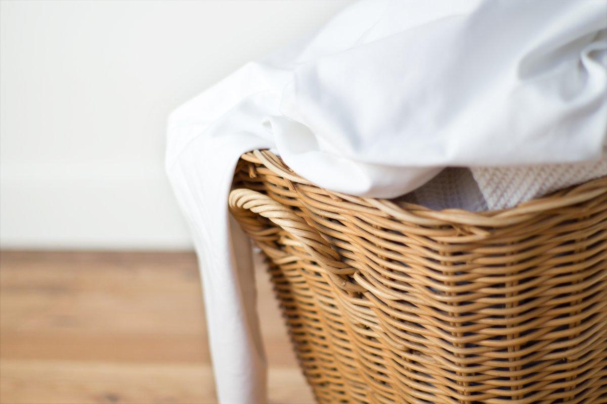 washing bed sheets