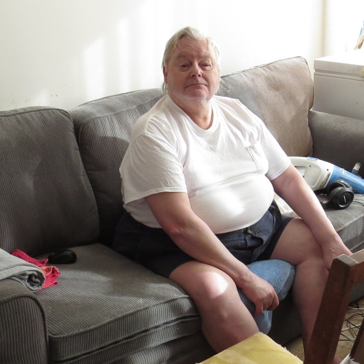 Guenther has been living in his West End apartment for 35 years.