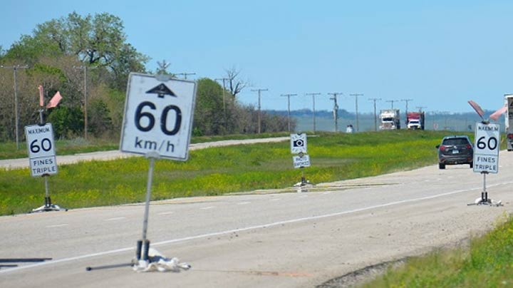 The Saskatchewan Ministry of Highways and Infrastructure is asking people to report incorrect work zone signage.