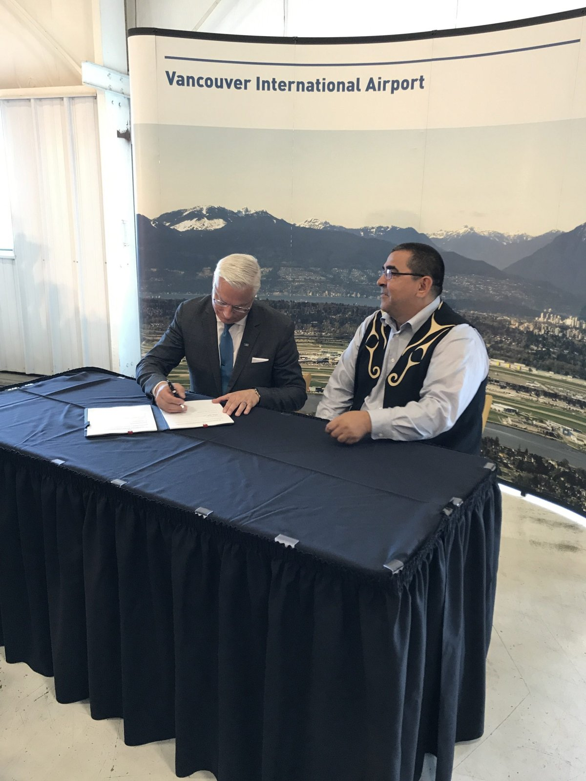 Musqueam Indian Band and YVR Airport reach sustainability agreement - image