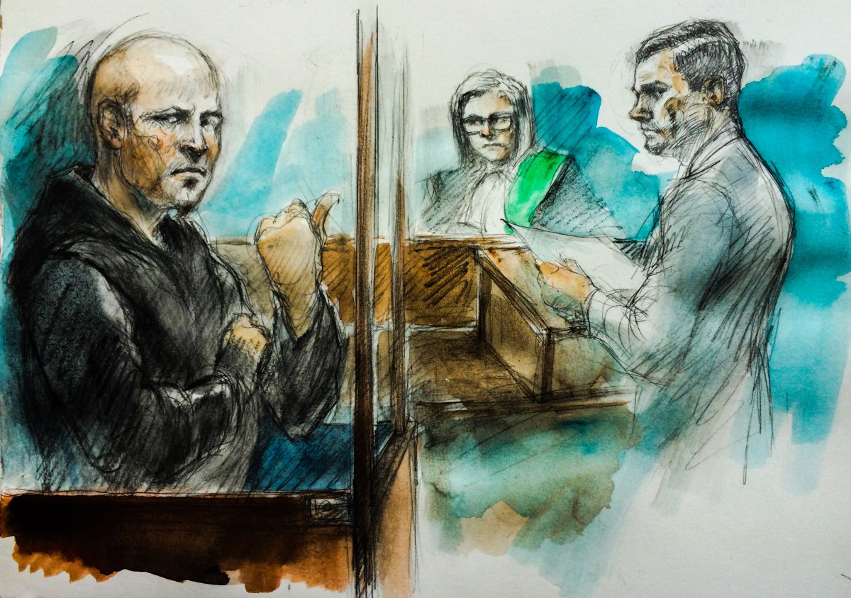 Michael Storms, 35, made an appearance in court in Toronto on June 29.