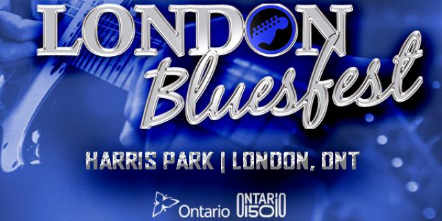 London's Bluesfest takes place Friday August 25-Sunday August 27.