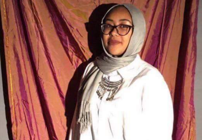 A photo of Nabra shared on a Launchgood.com fundraising page.