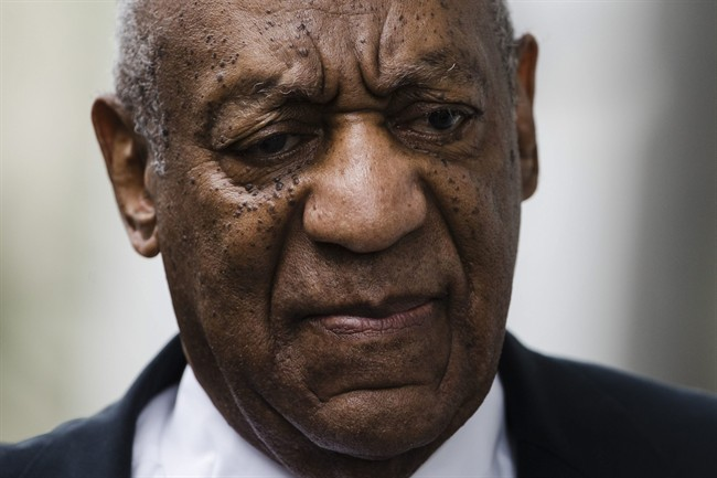 Bill Cosby exits the Montgomery County Courthouse after a mistrial was declared in his sexual assault trial in Norristown, Pa. on Saturday, June 17, 2017.