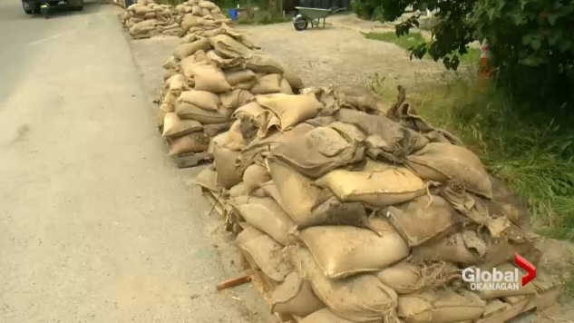 The Regional District of North Okanagan says it will be providing sand and sandbags to area residents strictly for flood protection purposes.