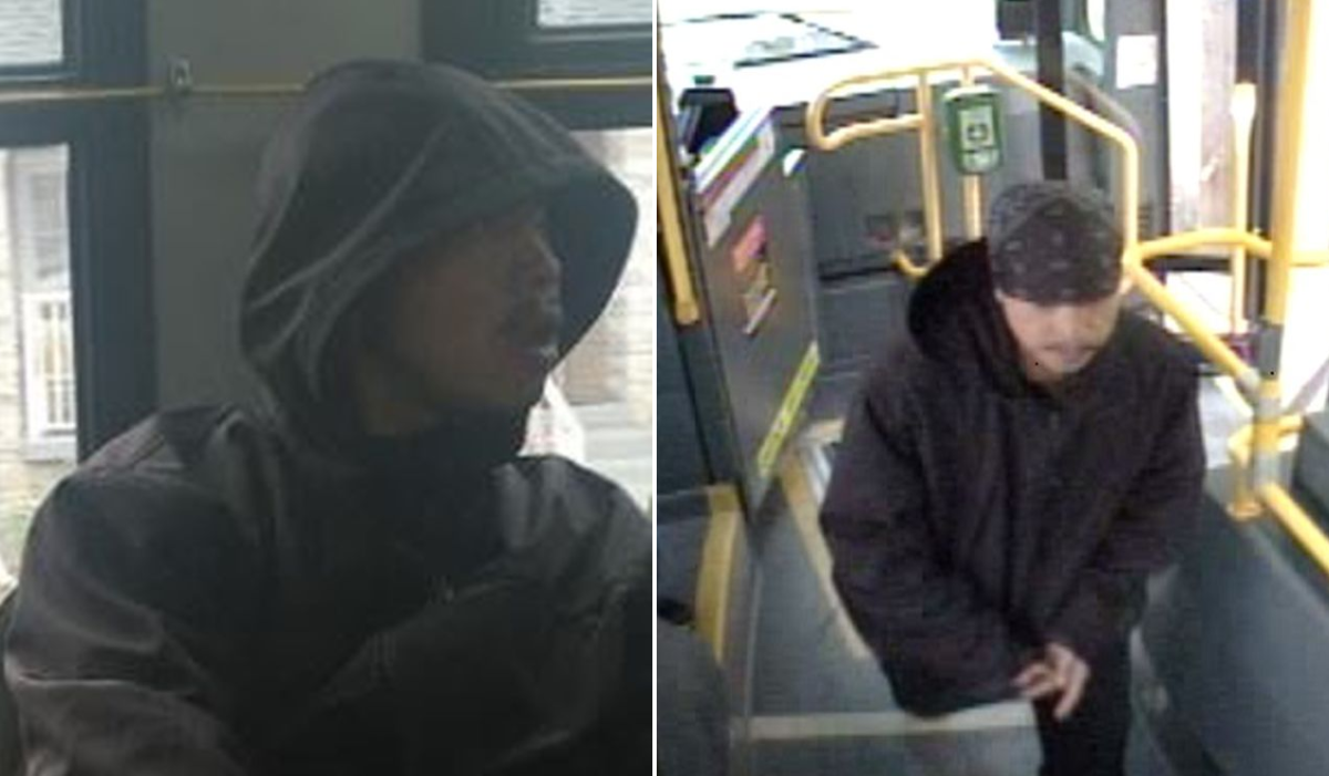 Toronto police have released two images of a man wanted in a sex assault investigation.