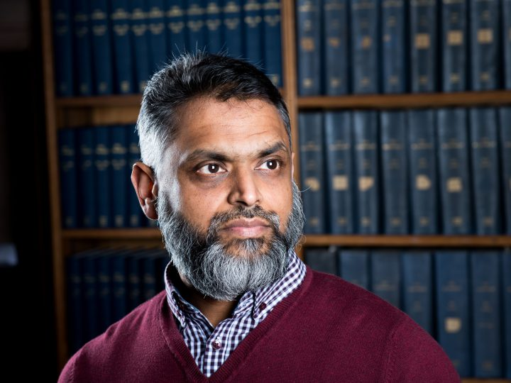 Moazzam Begg in a March 2017 photo.
