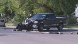 Continue reading: Motorcyclist in serious condition after collision in North Central