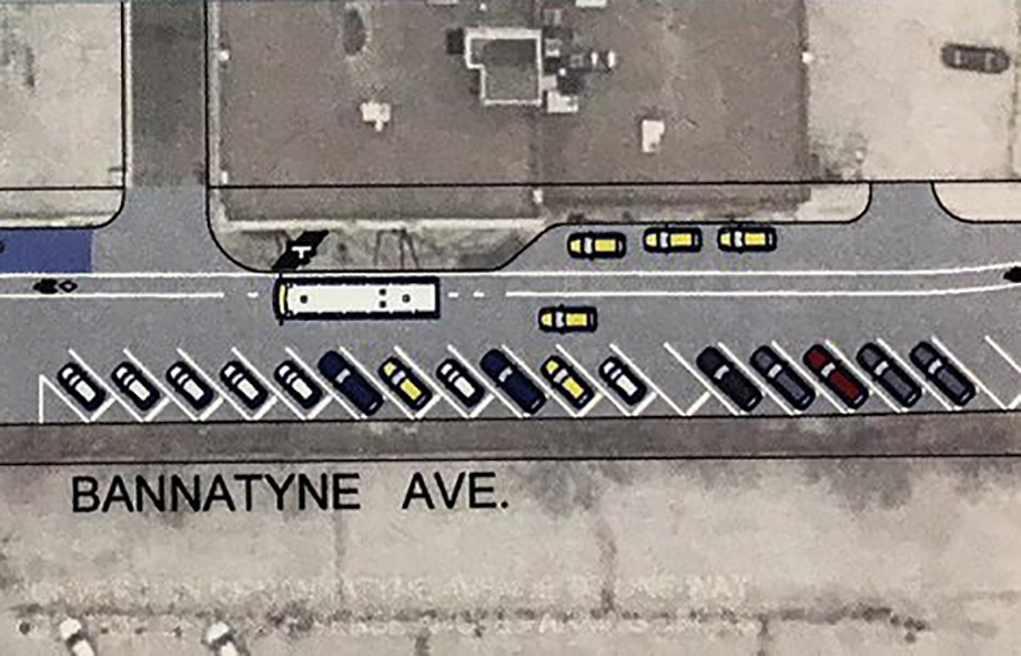 A City of Winnipeg pilot project along Bannatyne Avenue in the Exchange District has been so successful, it may become permanent.