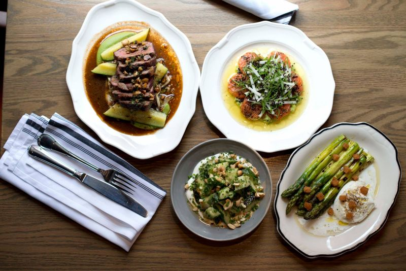 A display of dishes from Calgary's Bridgette Bar, located in the 700 block of 10 Avenue S.W.