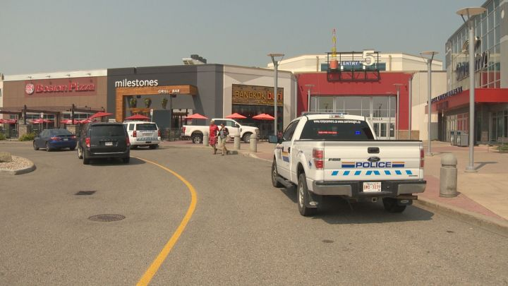 A man and woman, both from Calgary, have been charged with a list of offences following a high-speed chase that came to an end at CrossIron Mills Mall on Wednesday, July 19, 2017.